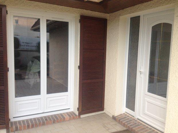 Esprit d'ouvertures fenêtre PVC porte-fenêtre entrée soubassement rénovation pose