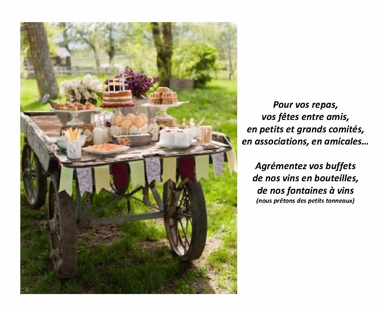 REPAS CHAMPETRES
