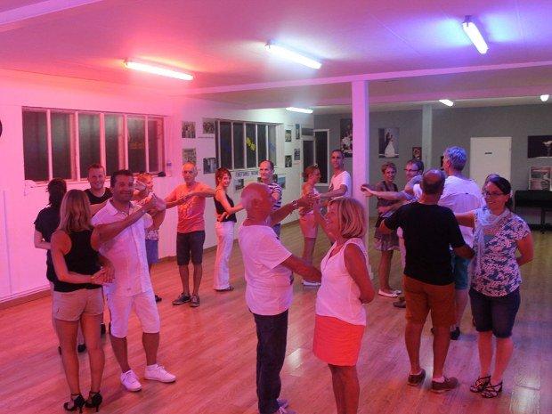 Cours collectifs de danse