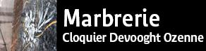 MARBRERIE CLOQUIER DEVOOGHT OZENNE