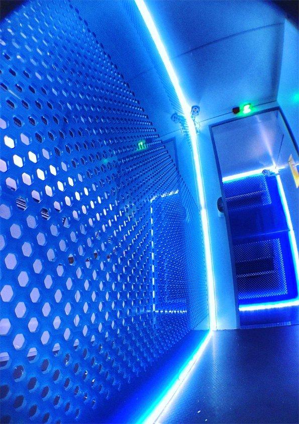 Cryothérapie aurore concept