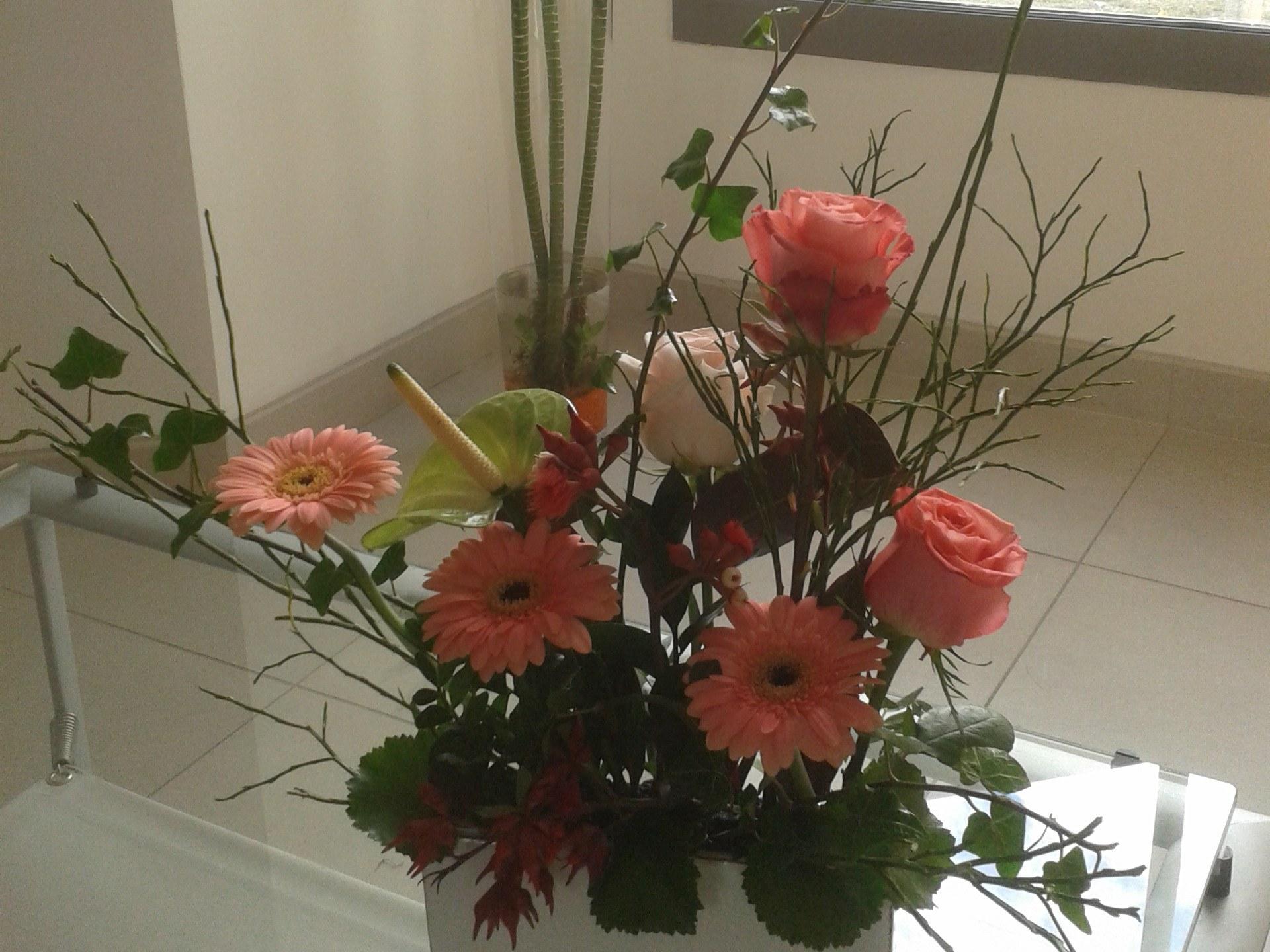 La livraison de fleurs en entreprise