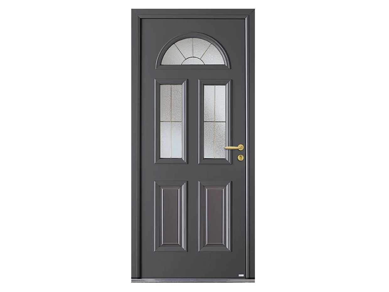 Porte d'entrée aluminium design esprit d'ouvertures