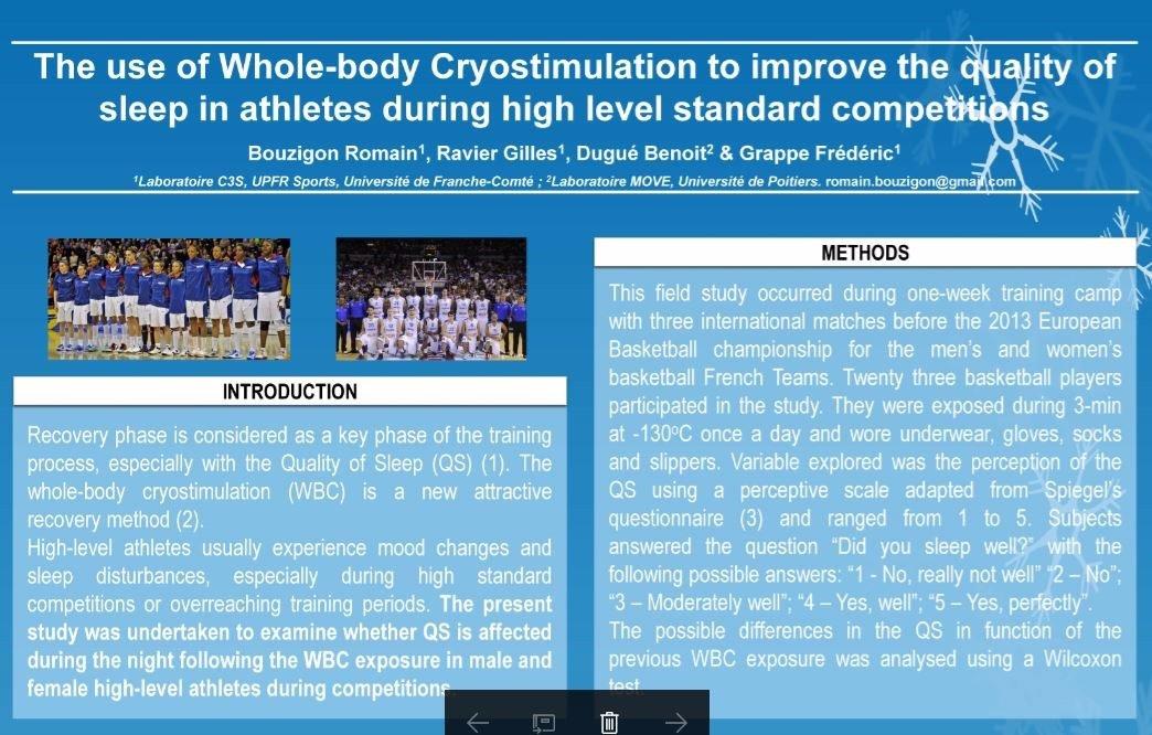 Aurore concept cryothérapie article scientifique bouzigon 3