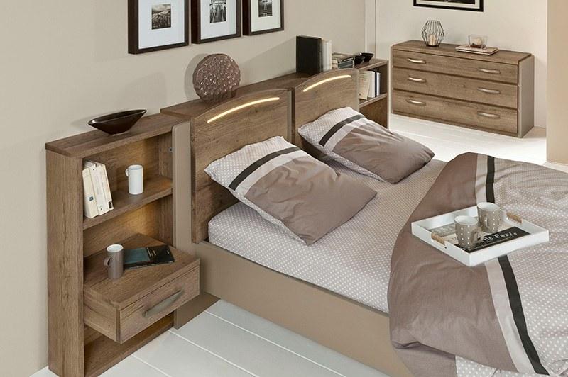 lit moderne bois calypso
