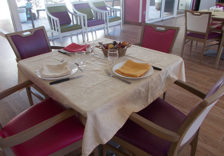 Tables pour notre repas d'AUTOMNE