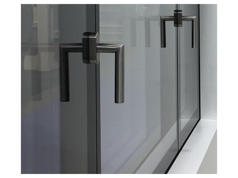 Fenetre Clara mixte triple vitrage swiss made façade architecte design moderne fenêtre luxe poignée