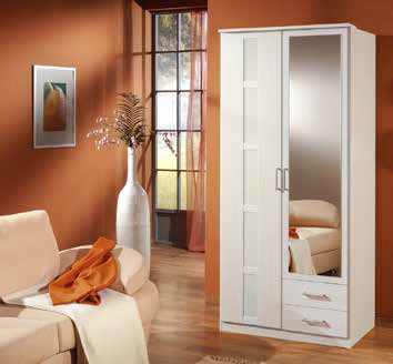 solo armoire 2 portes 2 tiroirs