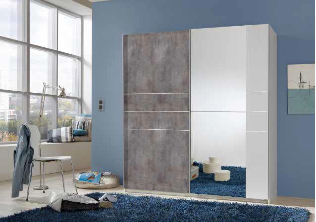 armoire stripe moderne