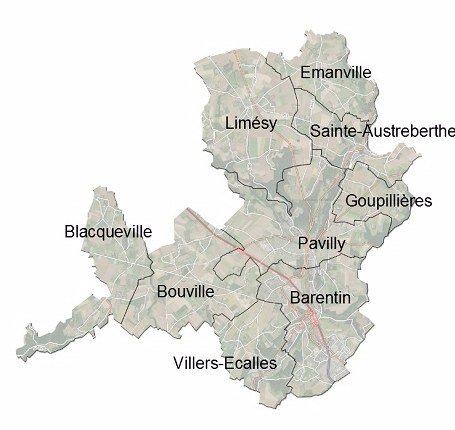 Communauté de Communes Caux Austreberthe territoire
