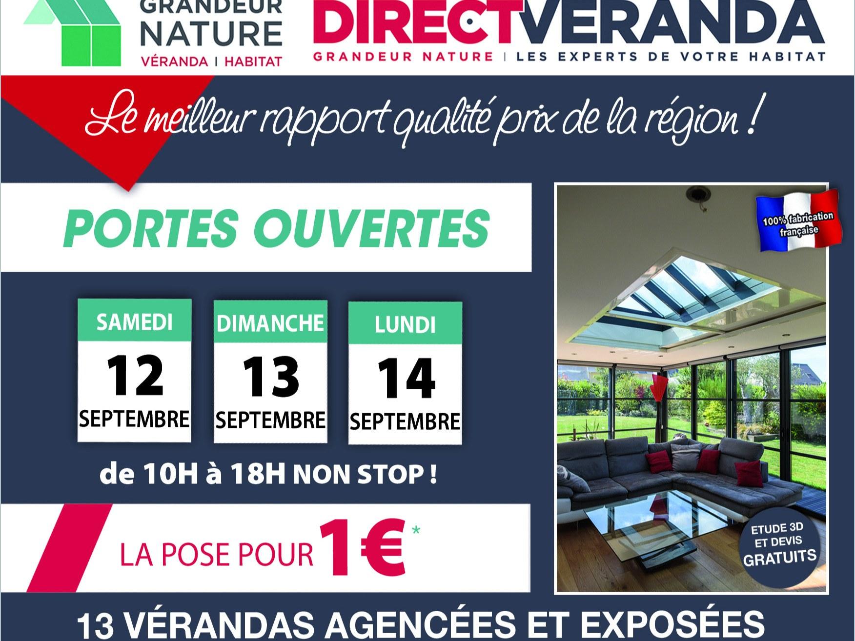 Portes ouvertes Direct-Véranda
