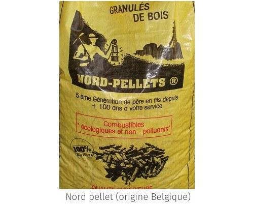 Granulés pellet din- Mullet Combustibles - Avion