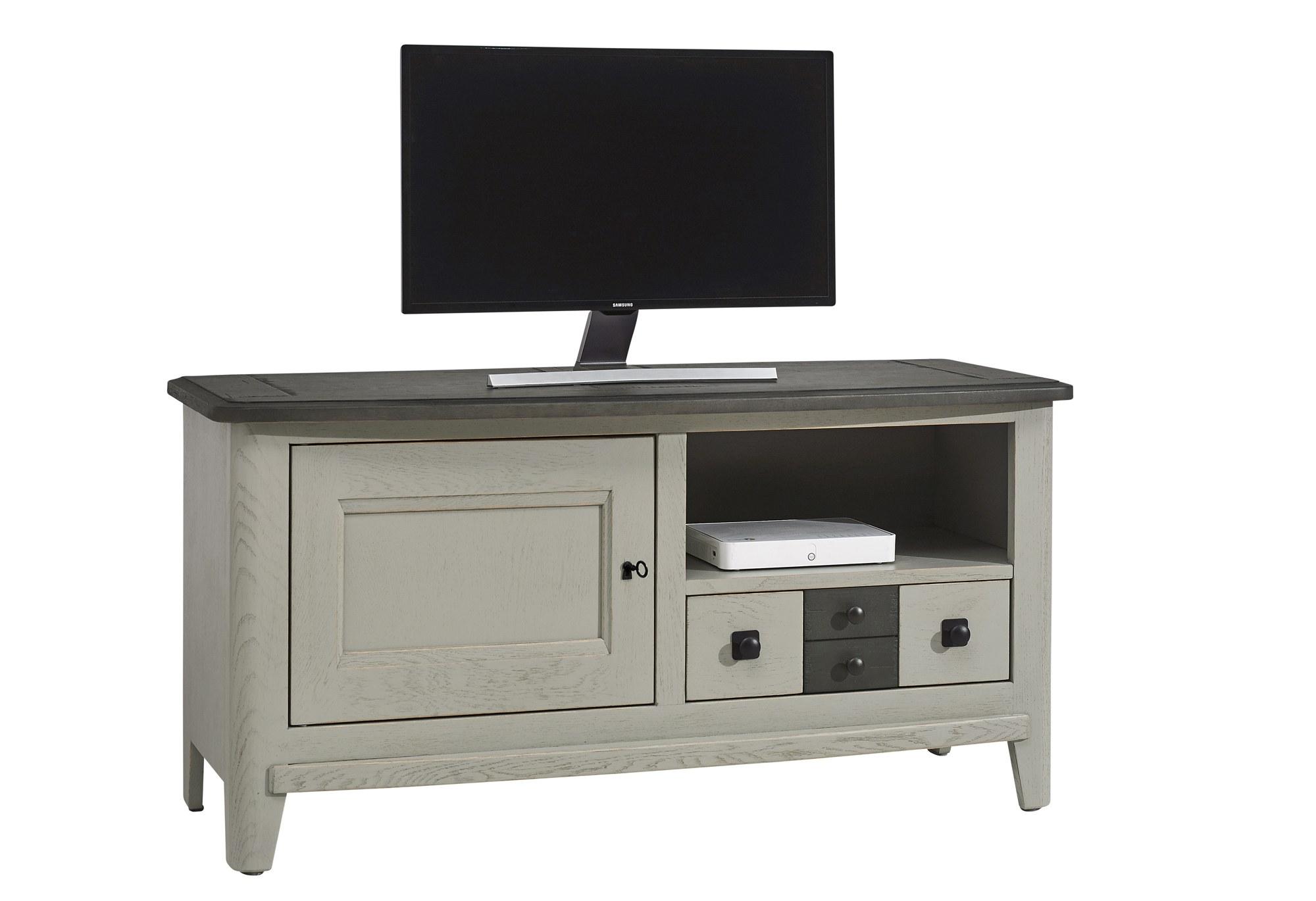 meuble TV Séraphine chêne massif