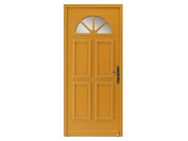 Porte d'entrée bois moabi movingui belm bel'm esprit d'ouvertures renovation dépose totale