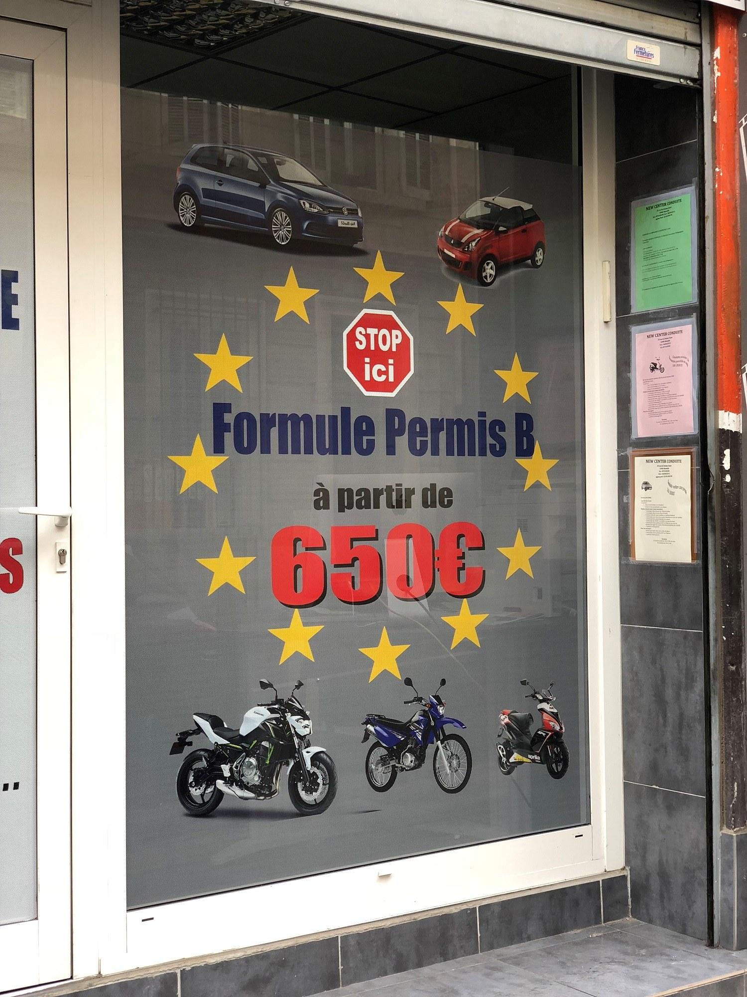 auto école Marseille