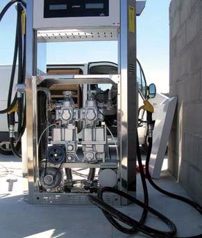 HIOT - Travaux publics  - Outillages - peinture - réparation - Industrie - activités - Activités -  Installation de station carburant
