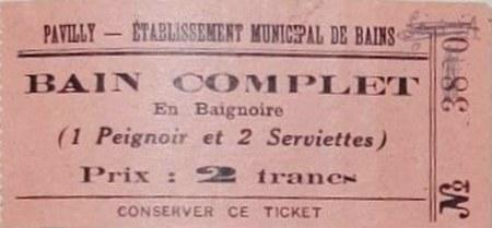 ticket bain pavilly