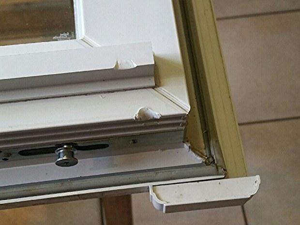 Réparation Fenêtre PVC-Avant