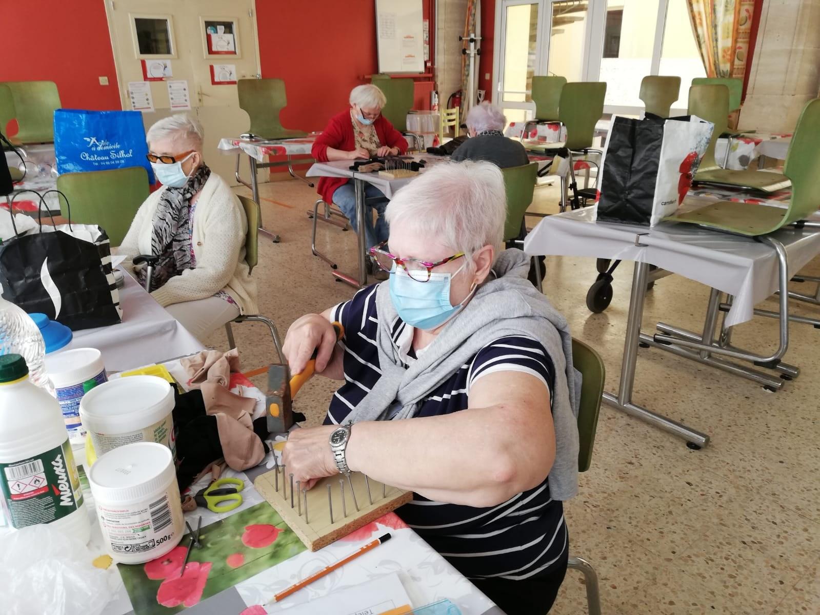 Atelier manuel - Entr'Aide Gardoise - Nîmes
