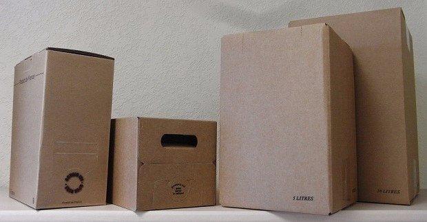 lps packaging - bag in box vin kraft