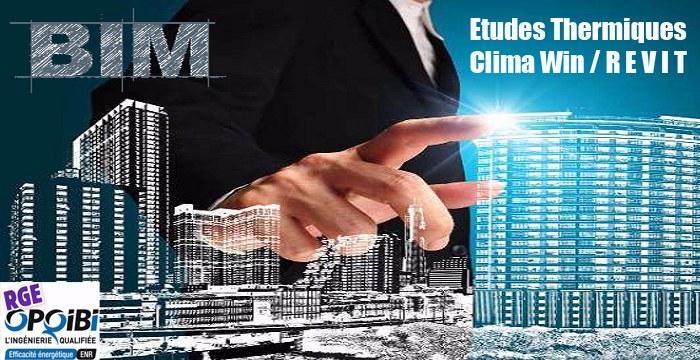 Etudes thermique Collectif Tertiaire Industriel,