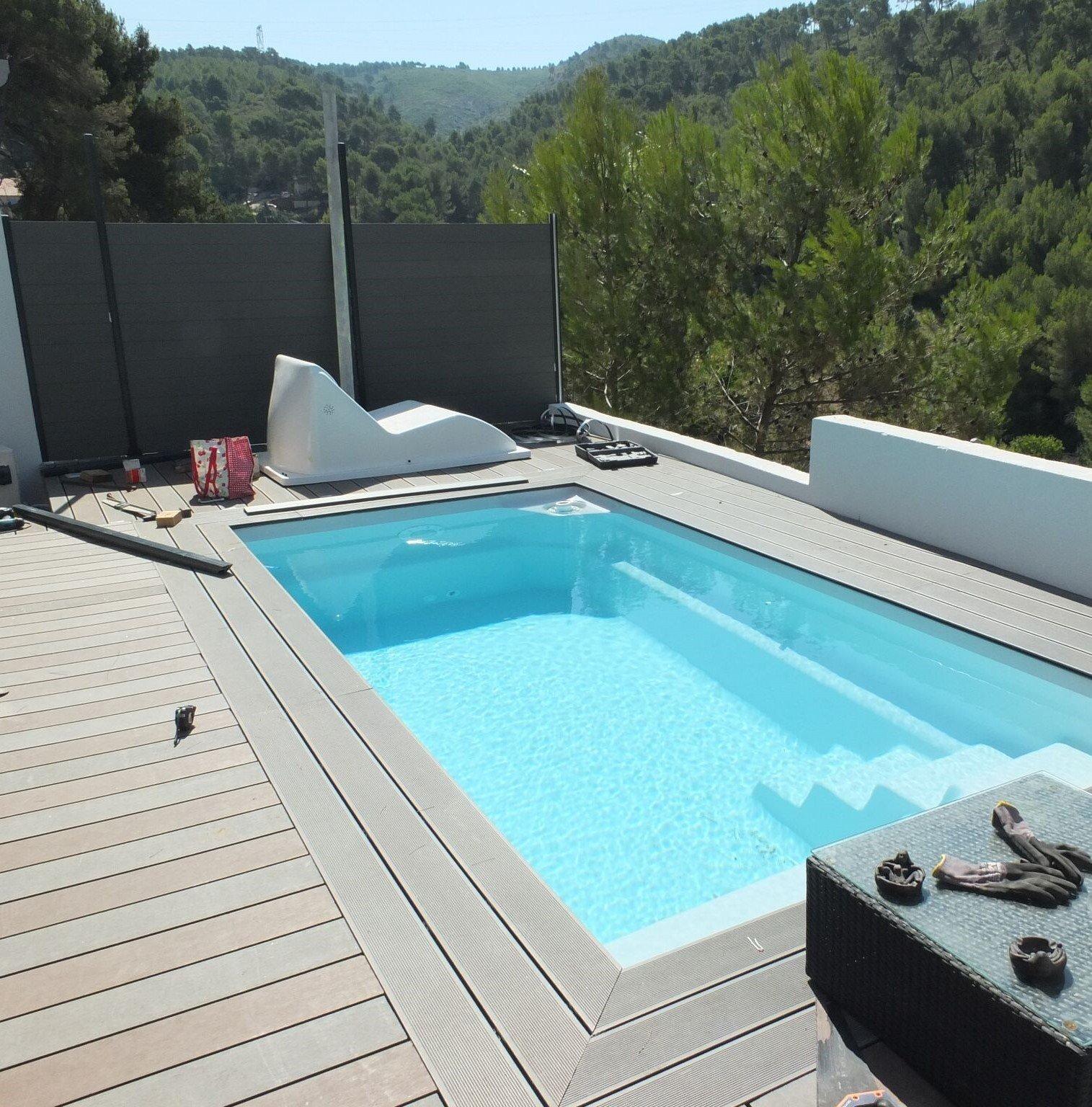 réalisation de piscine