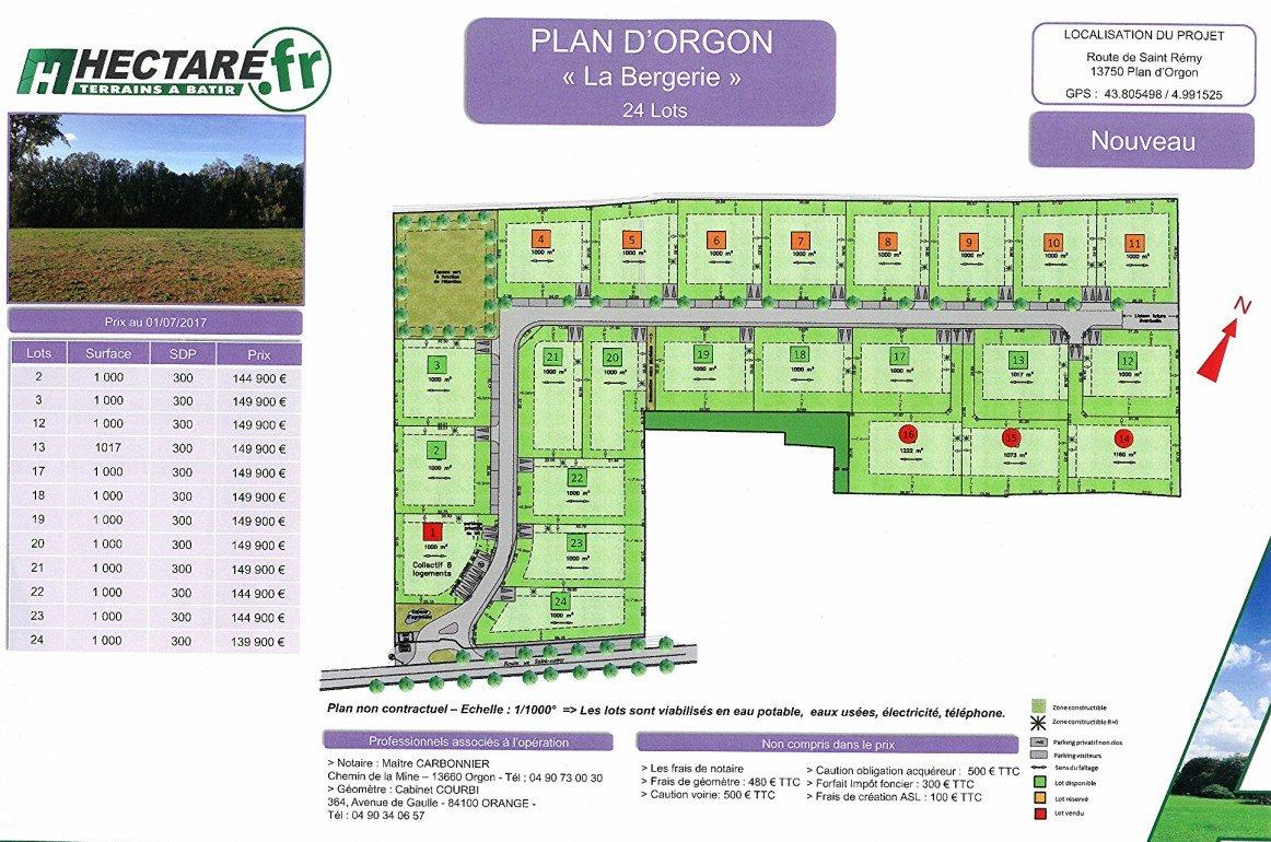 PLAN D'ORGON