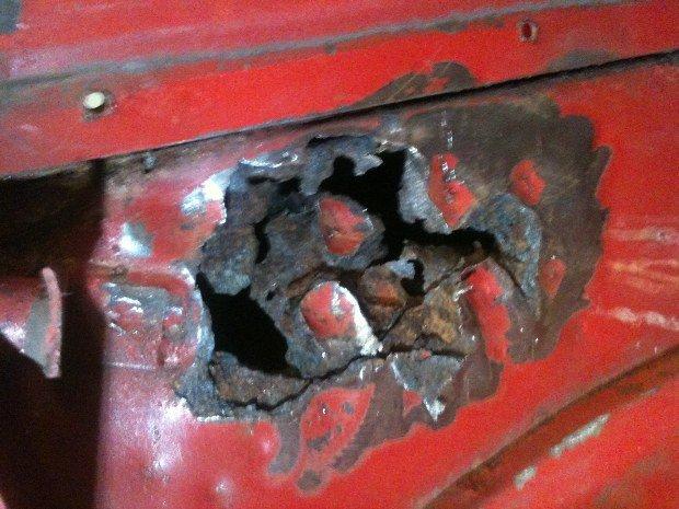 corrosion preforante parmis d'autres