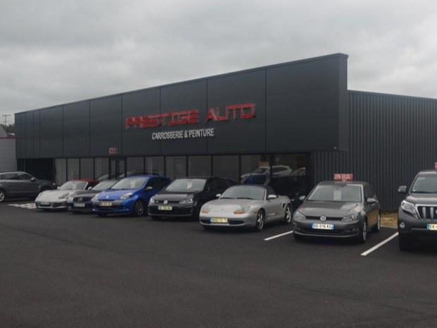 La vente de voitures d'occasion