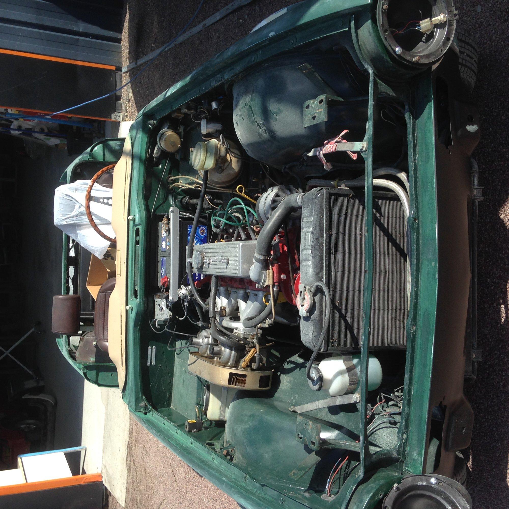 moteur TR6 2.5