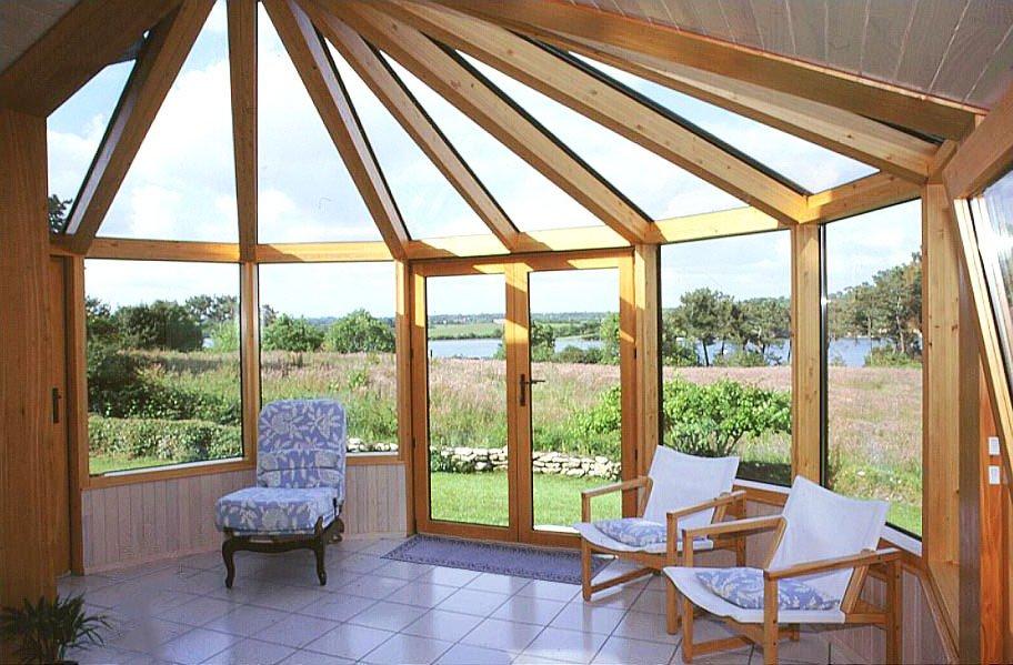 verandas en bois dur auvergne habitat marche auvergne. Black Bedroom Furniture Sets. Home Design Ideas