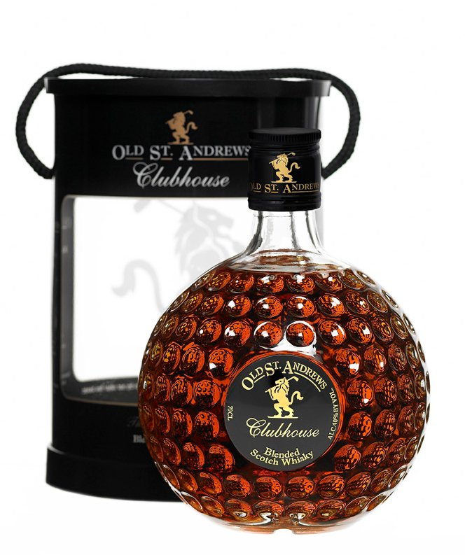 WHISKY OLD ST ANDREWS BALLE GOLF LA CENTRALE DES VINS