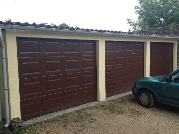 Esprit d'ouvertures sectionnelle garage porte acier 40mm sectionnelle box