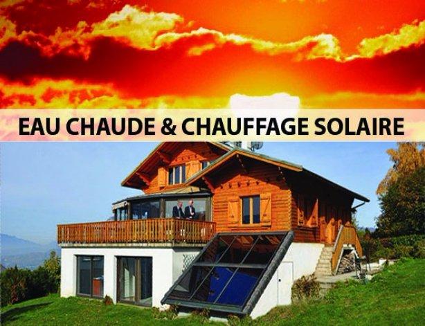 CHAUFFAGE EAU SOLAIRE TECHNI NATURE