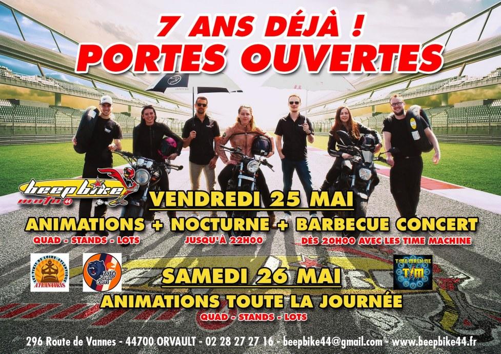 Portes ouvertes Beep Bike Nantes 25/26 mai 2018