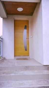 pose porte d'entrée