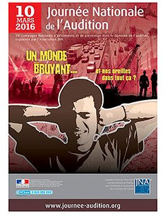 Journée nationale de l'audition 2016 centre auditif Audition Bourran à Rodez