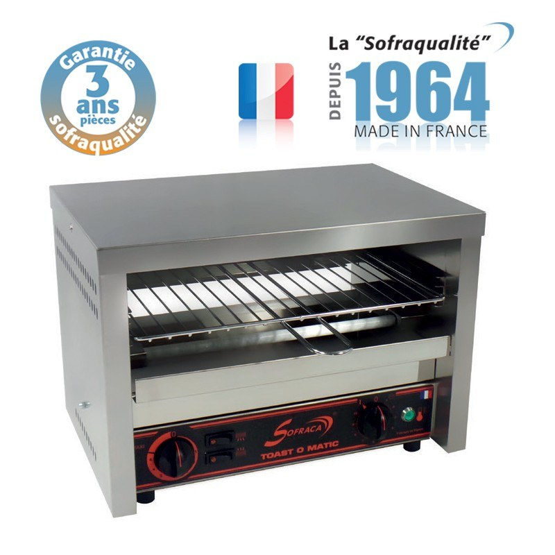 TOASTER SALAMANDRE SOFRACA MULTIFONCTION GRILL TOAST O MATIC 601