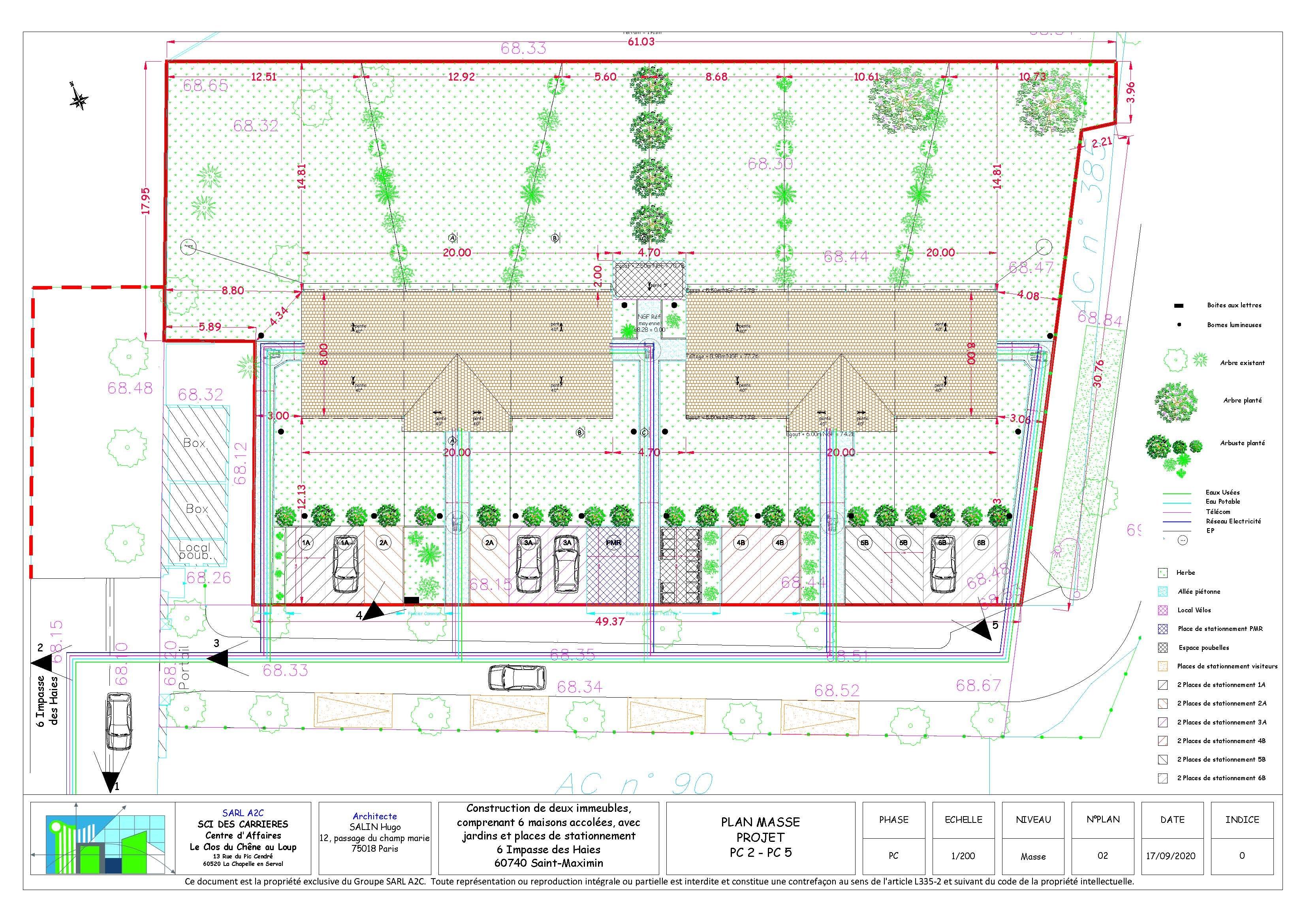 SC_PC_Projet Saint Maximin_02_Plan Masse Projet