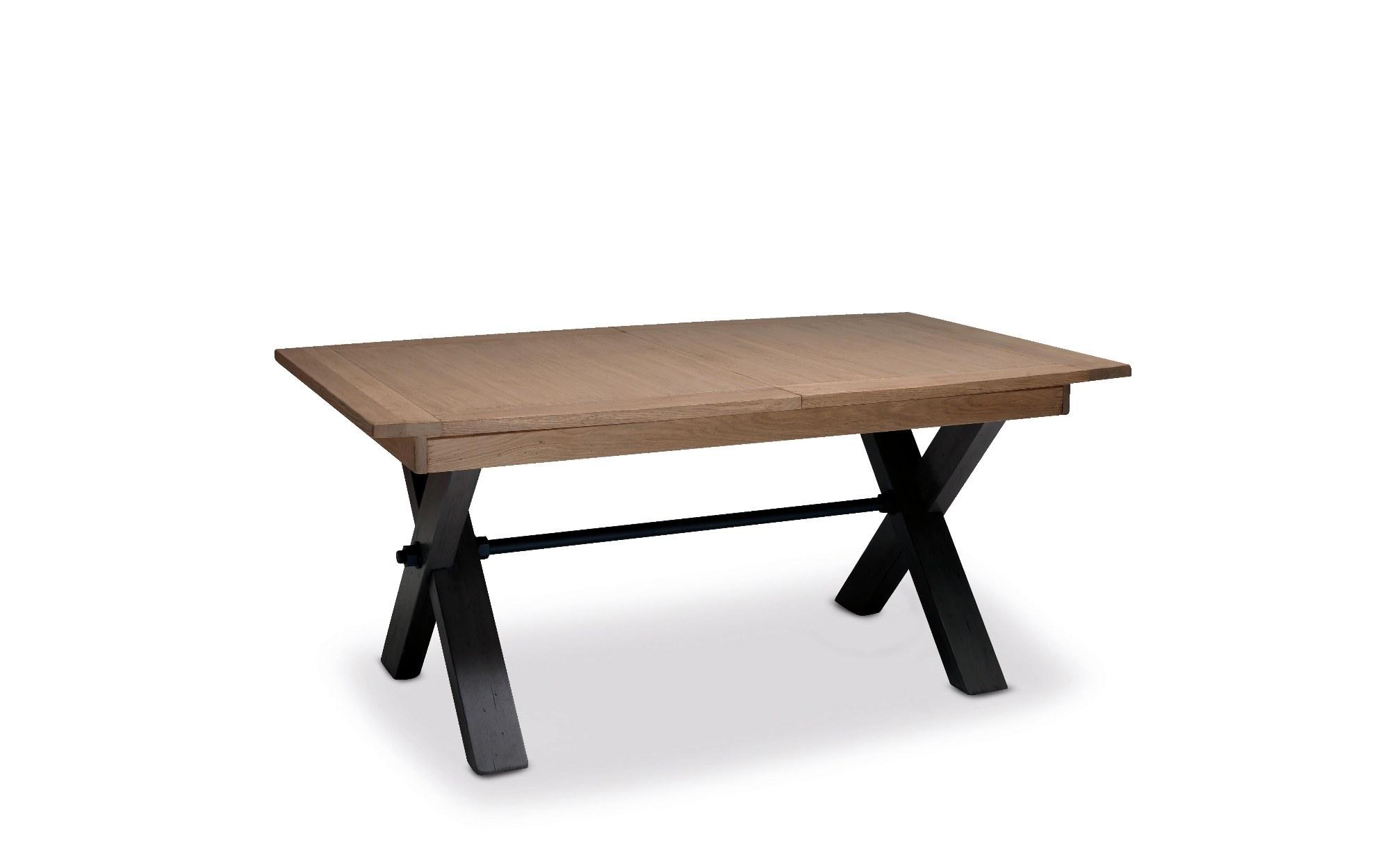 MAGELLAN TABLE PIED X DESSUS BOIS