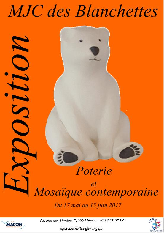 Expos poterie et mosaïque contemporaine