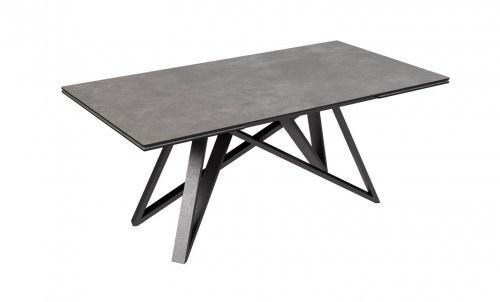 """TABLE CÉRAMIQUE 2 ALLONGES """"LILAS"""""""