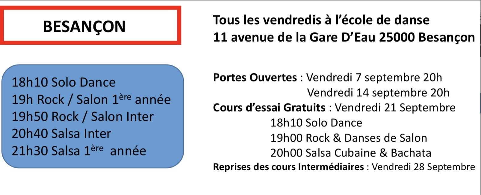 Cours Collectifs Besançon