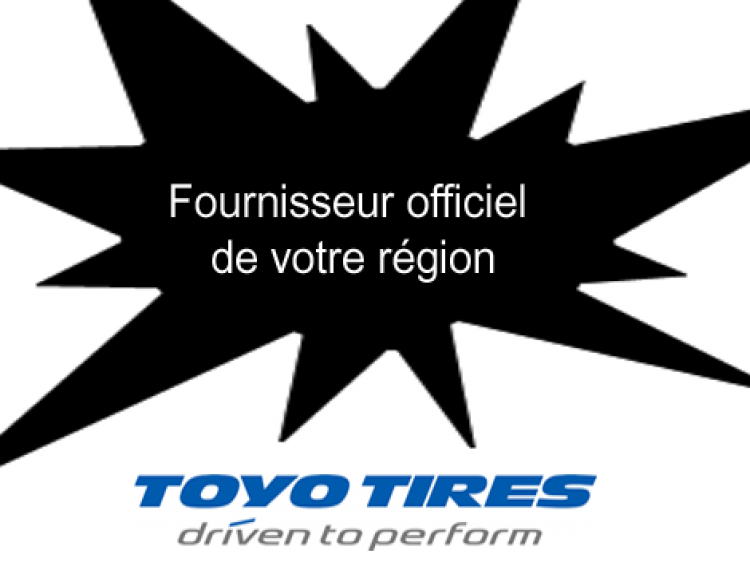 fournisseur officiel pneus  toyo tires