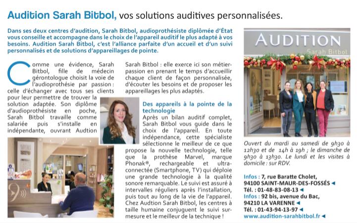 Capital - Audition Sarh Bitbol - Saint-Maur-des-Fossés