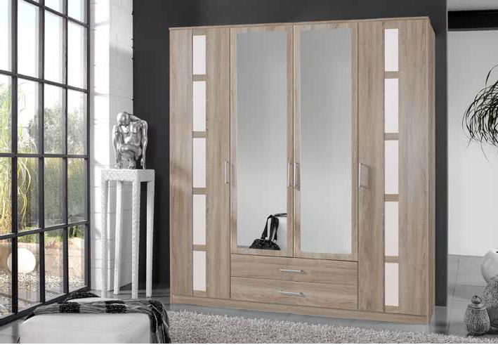 solo armoire 4 portes 2 tiroirs