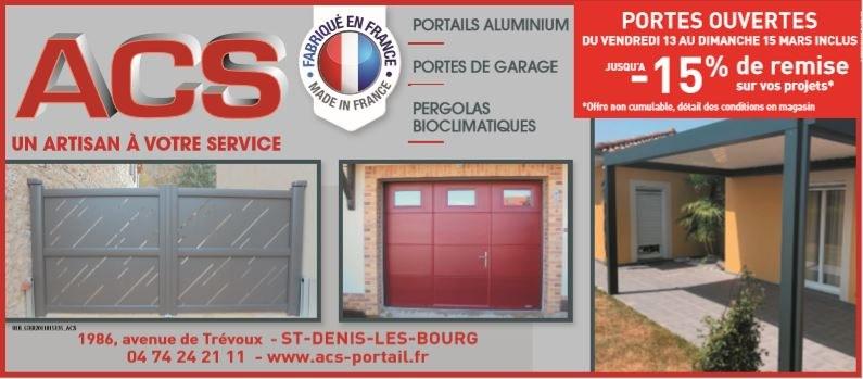Porte ouverte ACS mars 2020 - Saint-Denis-Les-Bourg - ACS