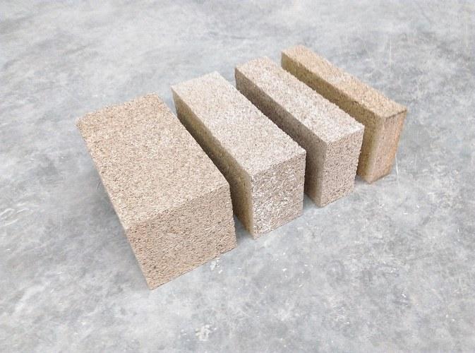 Les blocs de béton de chanvre MULTICHANVRE