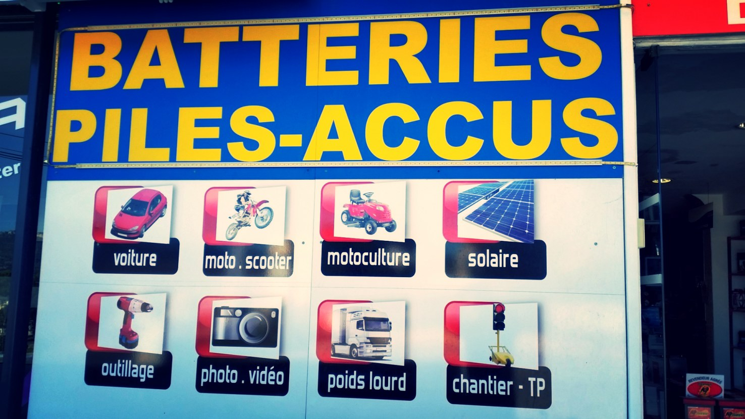 ABPS 83 - Six Fours les plages - Magasin - Vente - Batteries - Piles - Chargeurs - HOME
