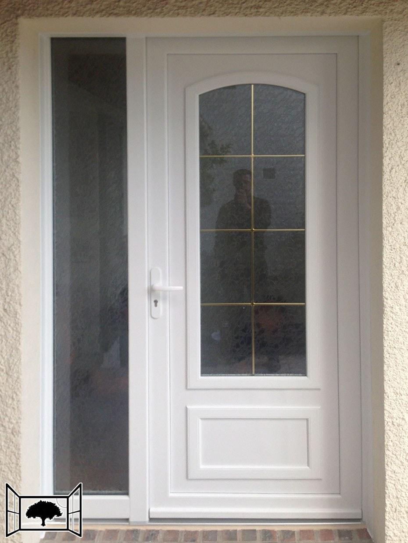 Porte Bipa Bernay avec Tierce fixe vitrée
